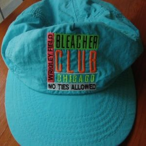 Other - VINTAGE Chicago Cubs Bleacher Club Hat